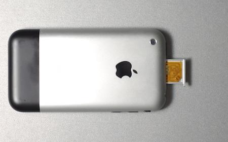 SIM-chip och SIM-kort i släden