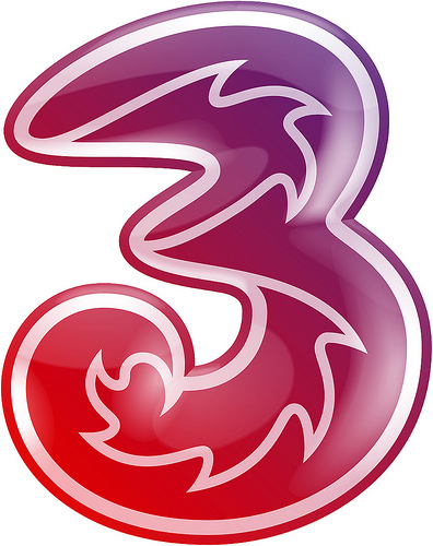 Tre logotyp